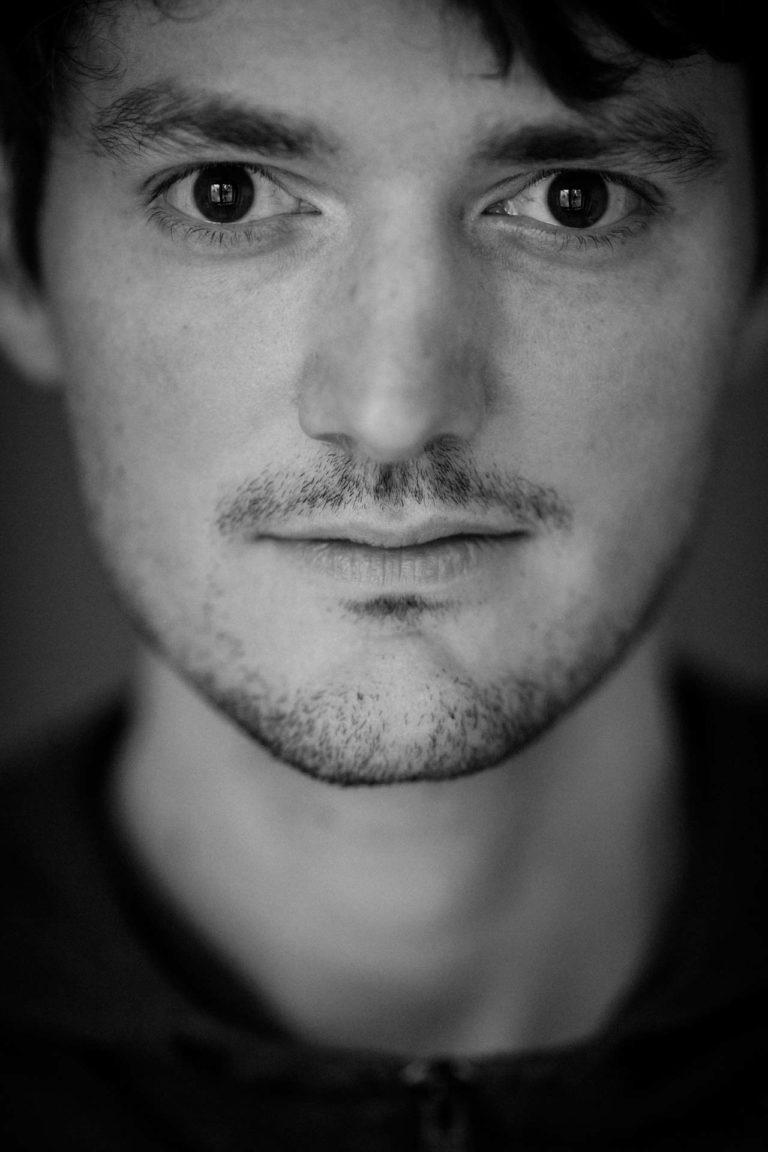 Selbstportrait des Fotografen Benjamin Wohlert
