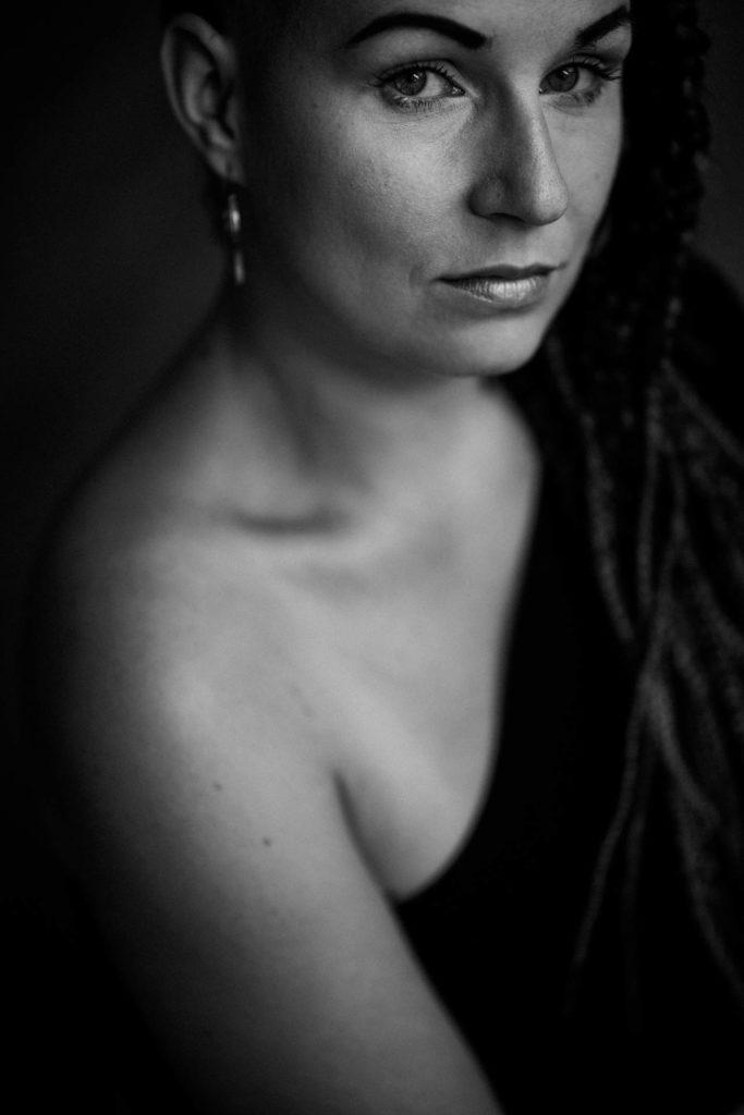 Foto aus einem Portraitshooting von mir in Dresden
